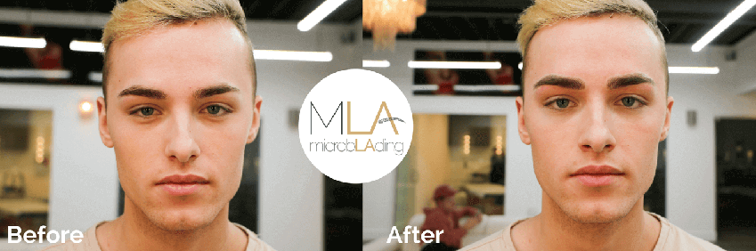 microblading for men before and after 2