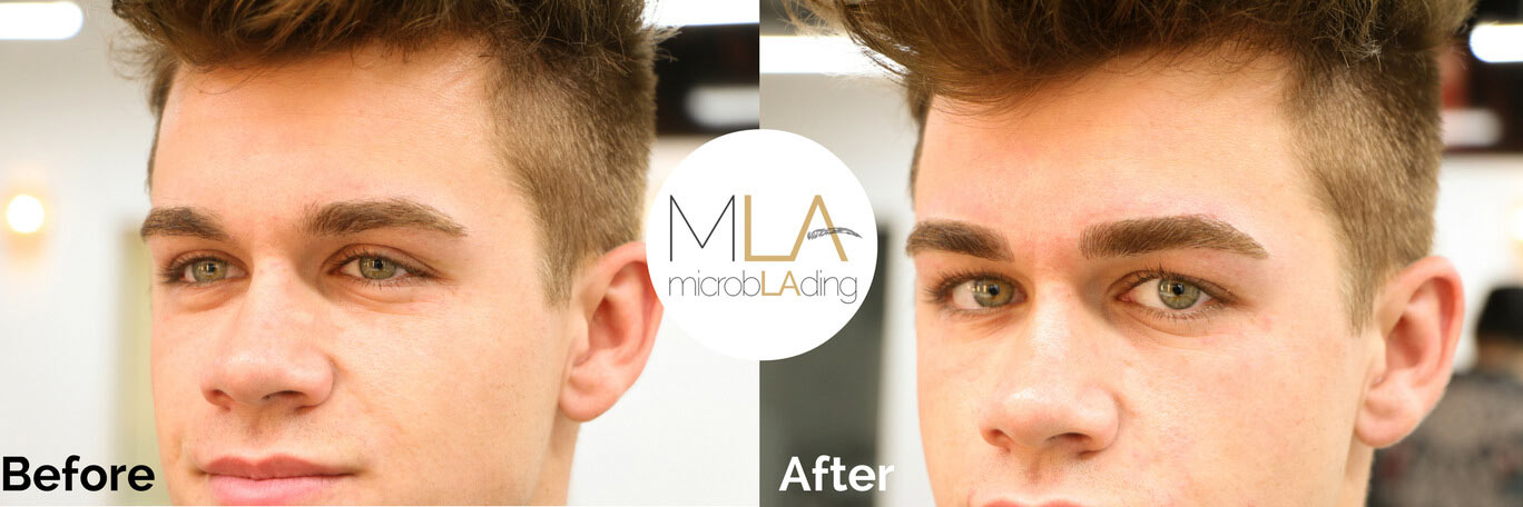 Microblading For Men Is Totally A Thing