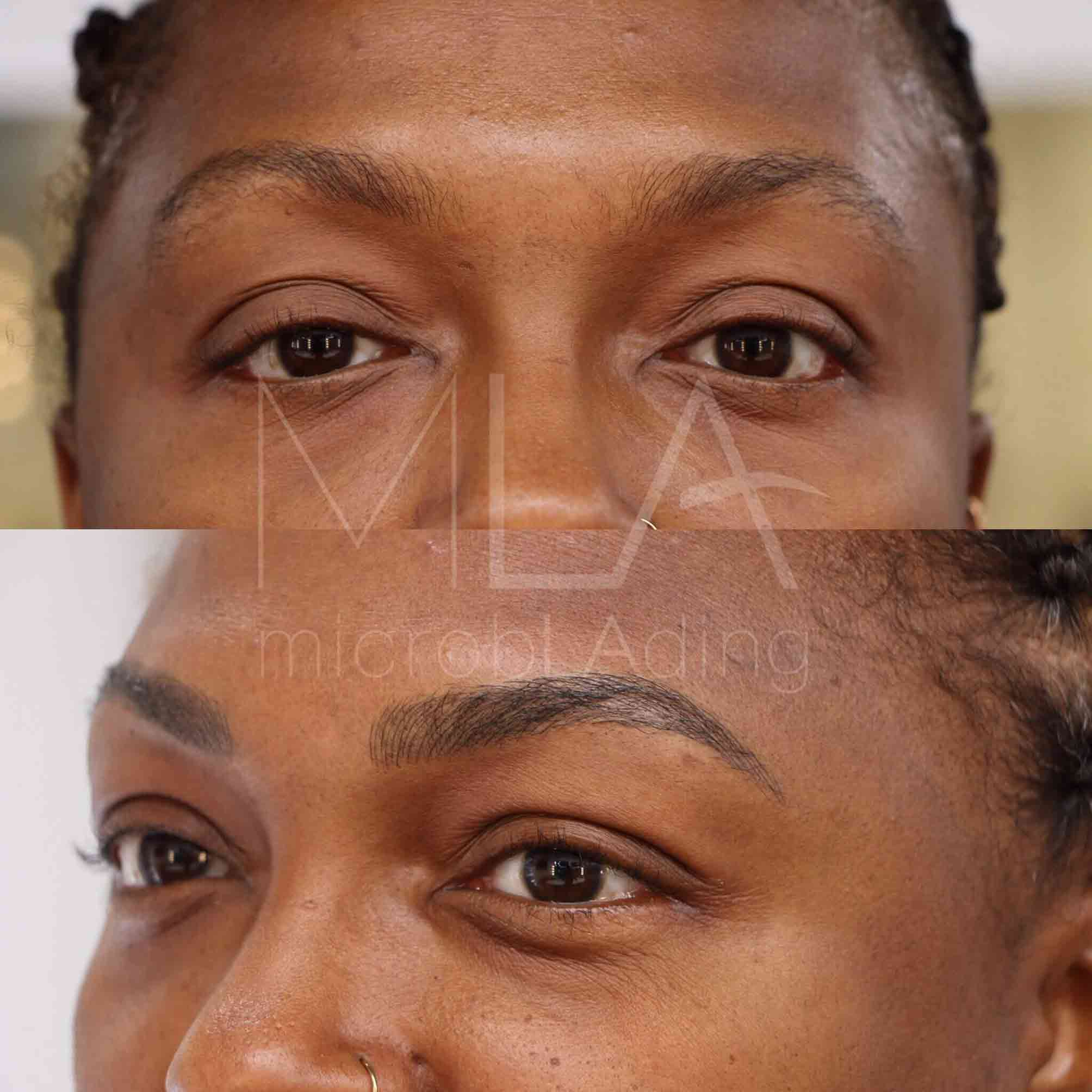 Microblading for African American Women