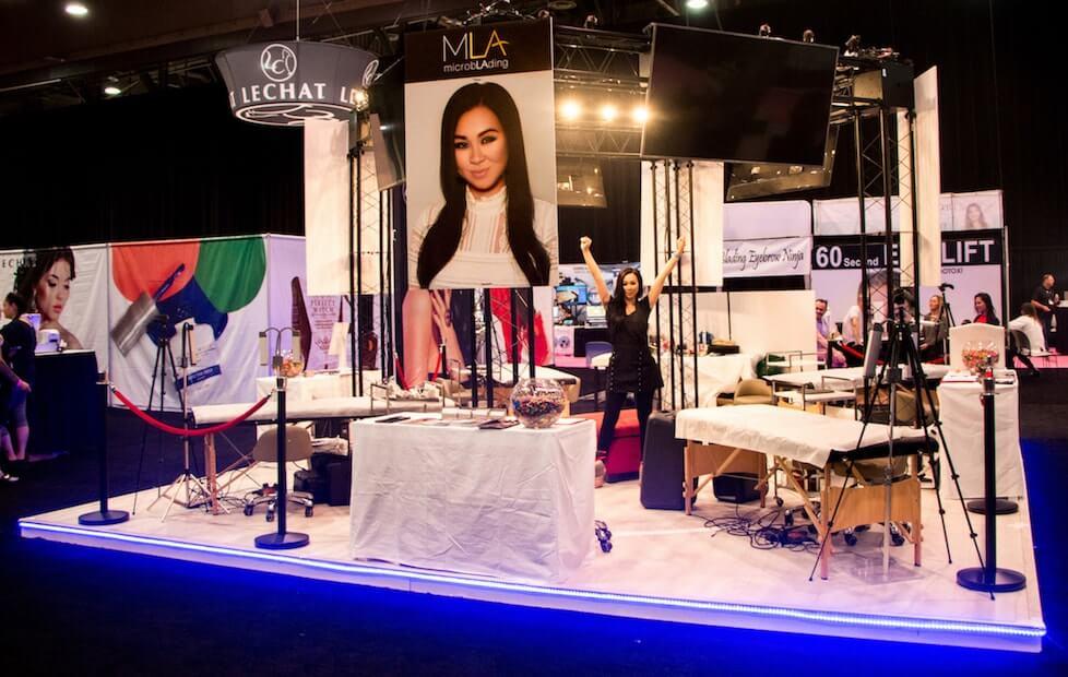 Makeup Convention Las Vegas Style Guru Fashion Glitz Glamour Style Unplugged