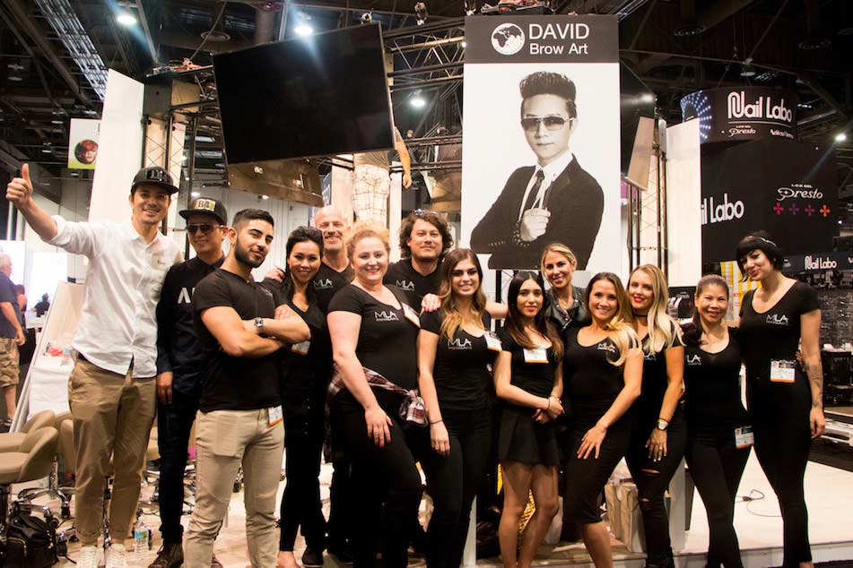 MLA Team at the International Beauty Show 2017
