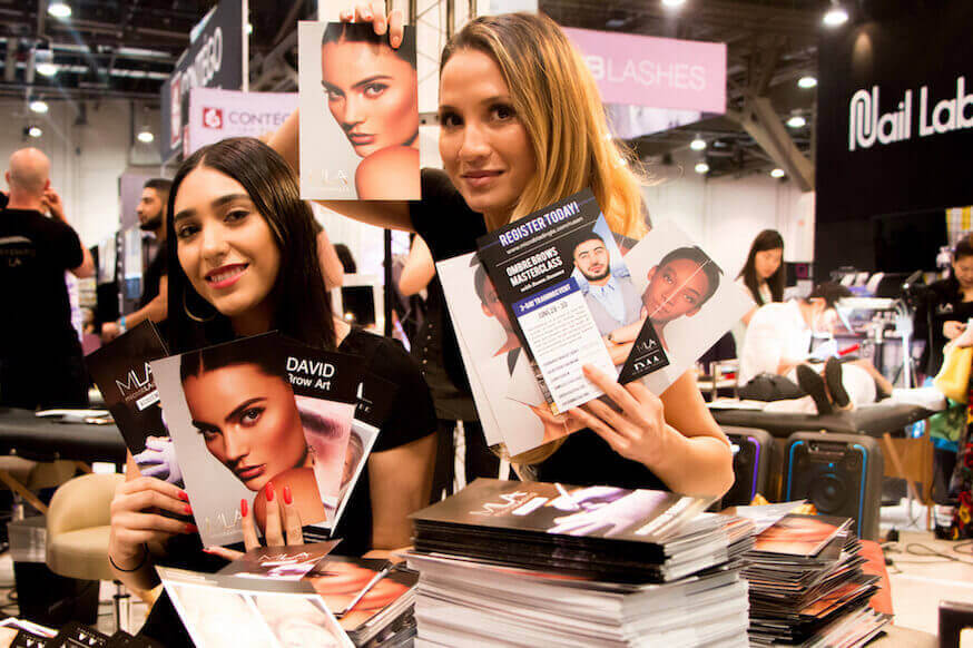 beauty vegas las international team microblading flyers assistants squad brought sam weekend whole handing